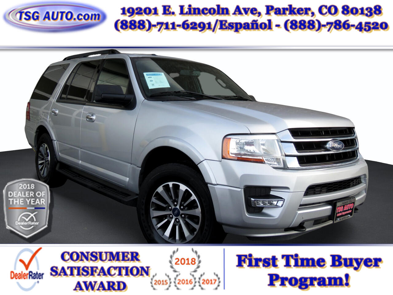 Ford Expedition 4dr XLT 4WD 2015