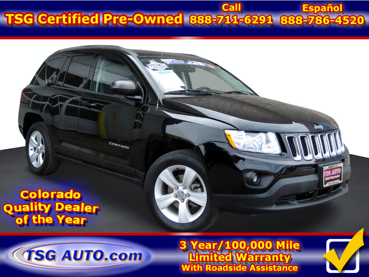 Jeep Compass 4WD 4dr Latitude 2013