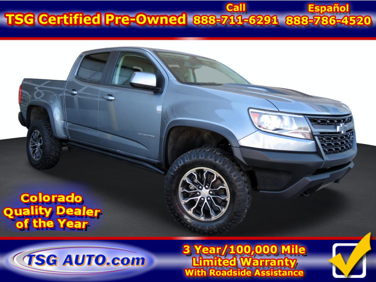 "Chevrolet Colorado 4WD Crew Cab 128.3"" ZR2 2018"