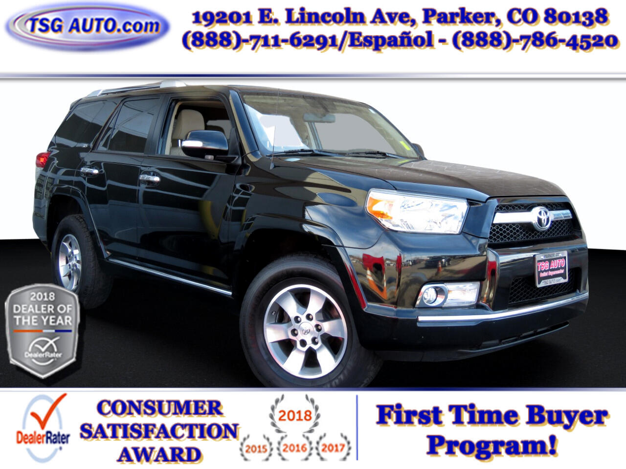 Toyota 4Runner 4dr Auto 4WD SR5 3.4L 2013