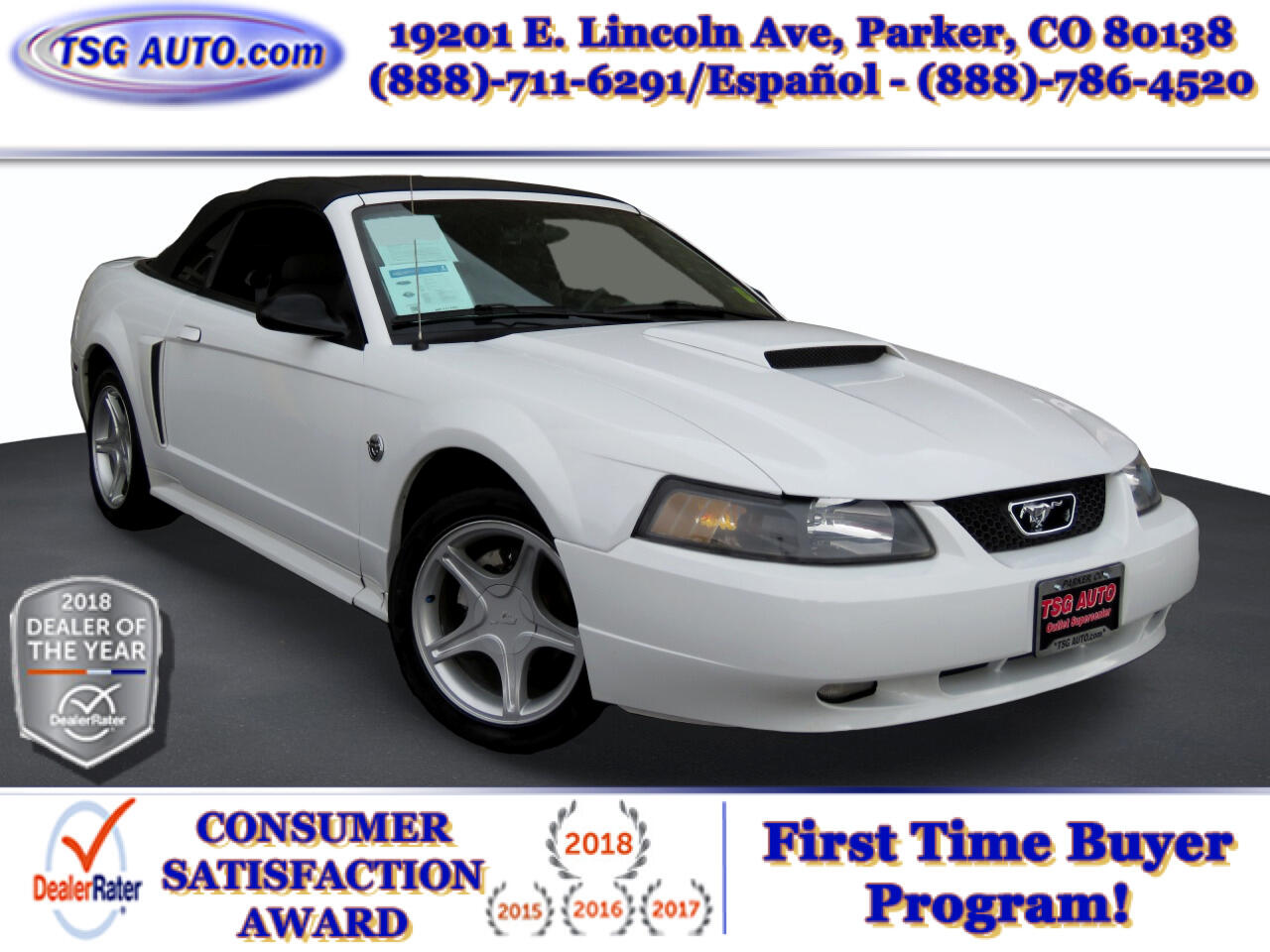 Ford Mustang 2dr Conv GT Deluxe 2004