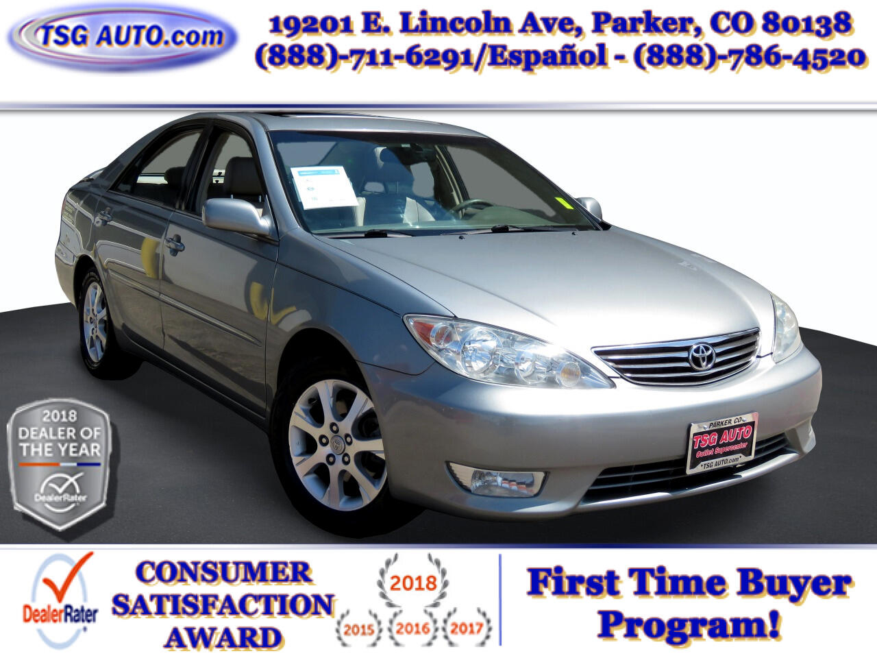 Toyota Camry 4dr Sdn XLE V6 Auto (Natl) 2005