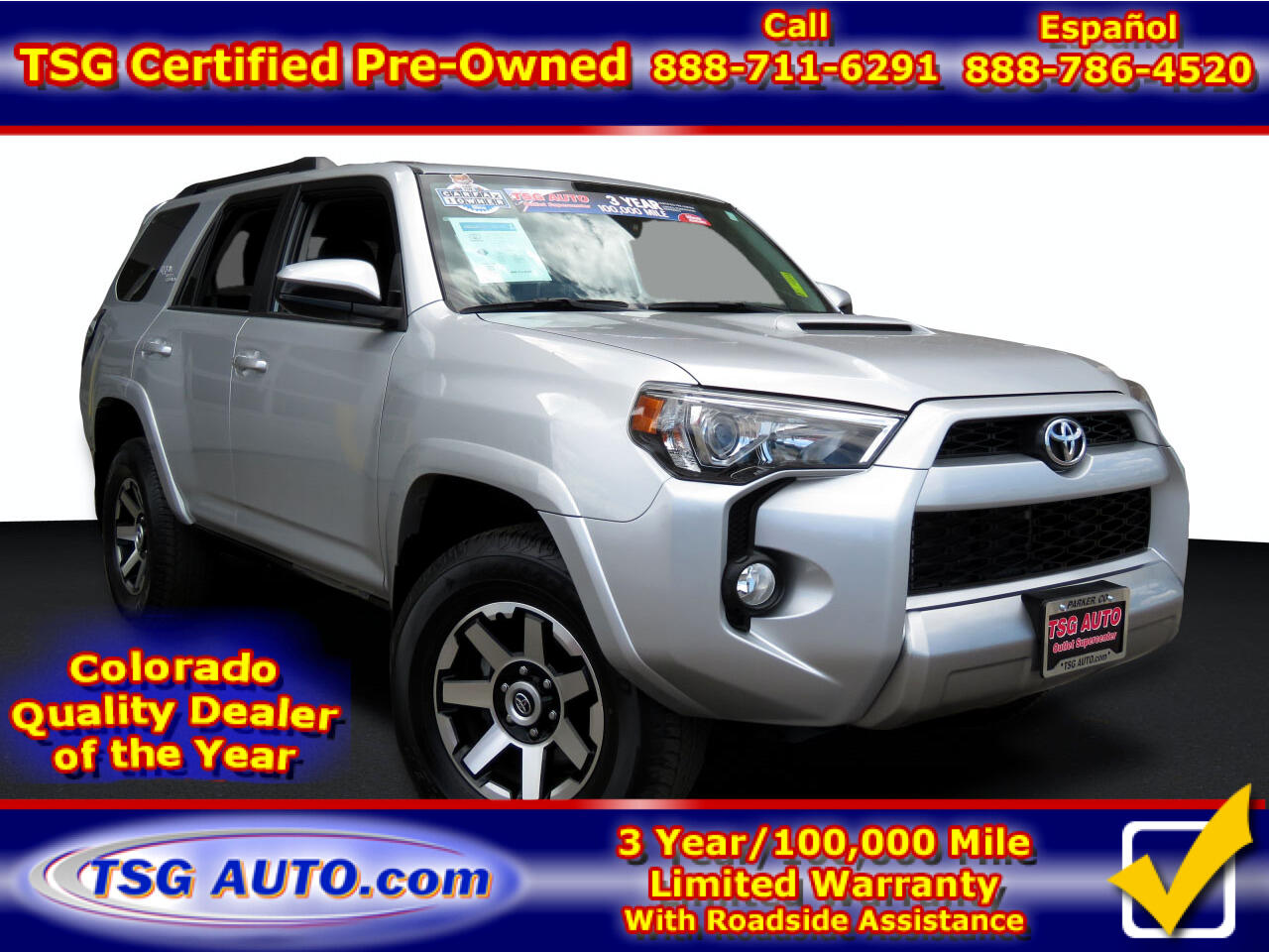 Toyota 4Runner TRD Off Road 4WD (Natl) 2019