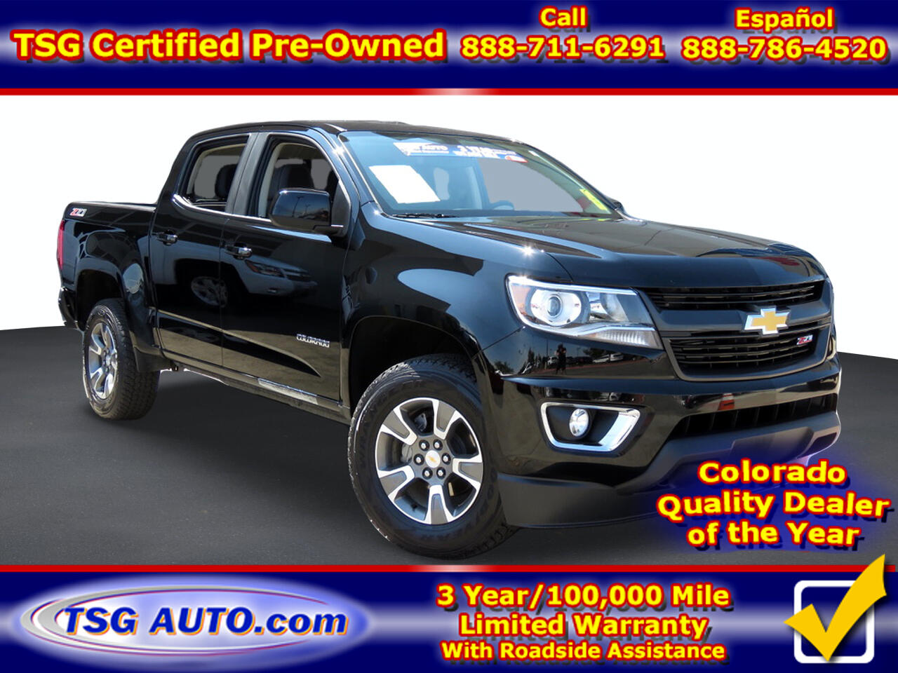 "Chevrolet Colorado 4WD Crew Cab 128"" Z71 2020"
