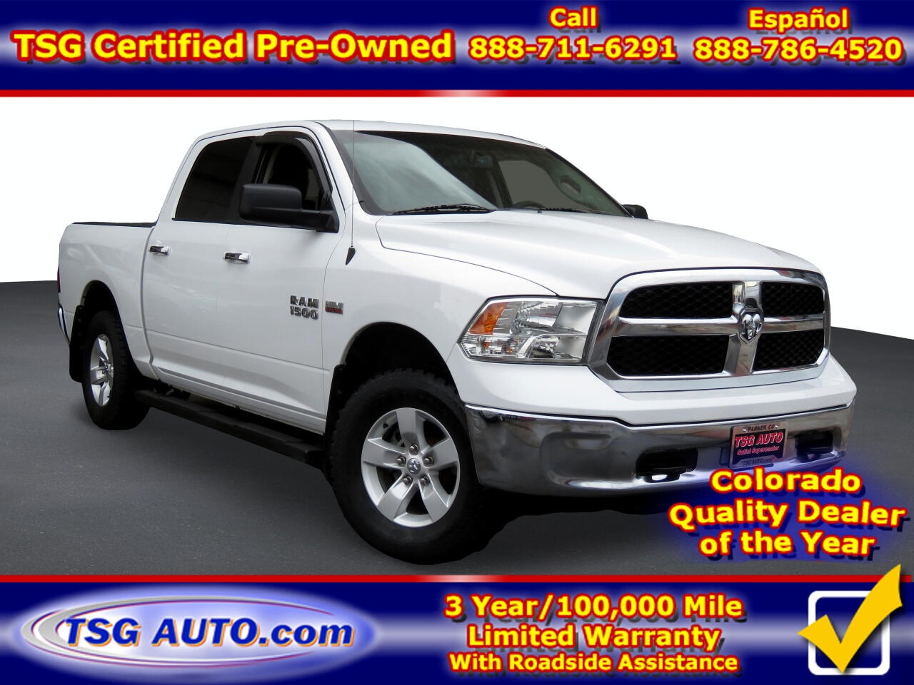 Used Ram 1500 Parker Co