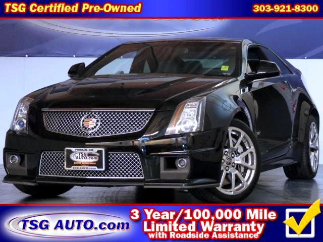 2011 Cadillac CTS V Coupe W/Leather NAV Rear Cam Sunroof