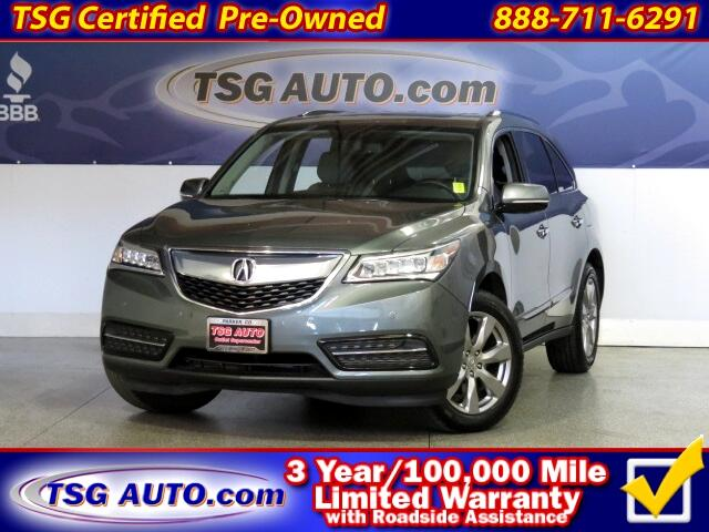 2014 Acura MDX 3.5L V6 SH-AWD TECH W/NAV Leather SunRoof
