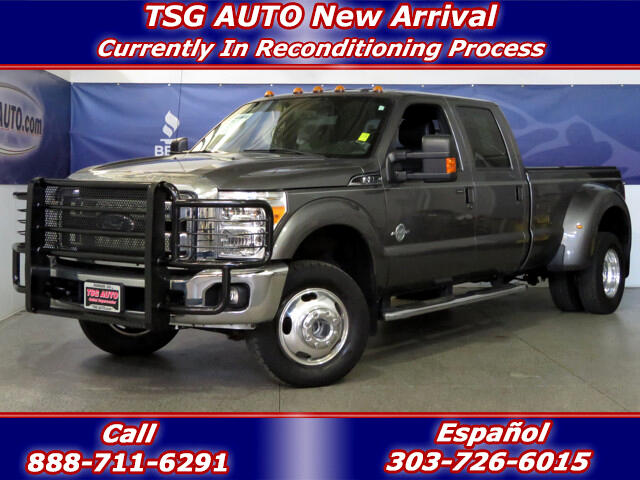 2012 Ford F-350 SD Lariat Super Crew 6.7L V8 Turbo Diesel 4WD DRW