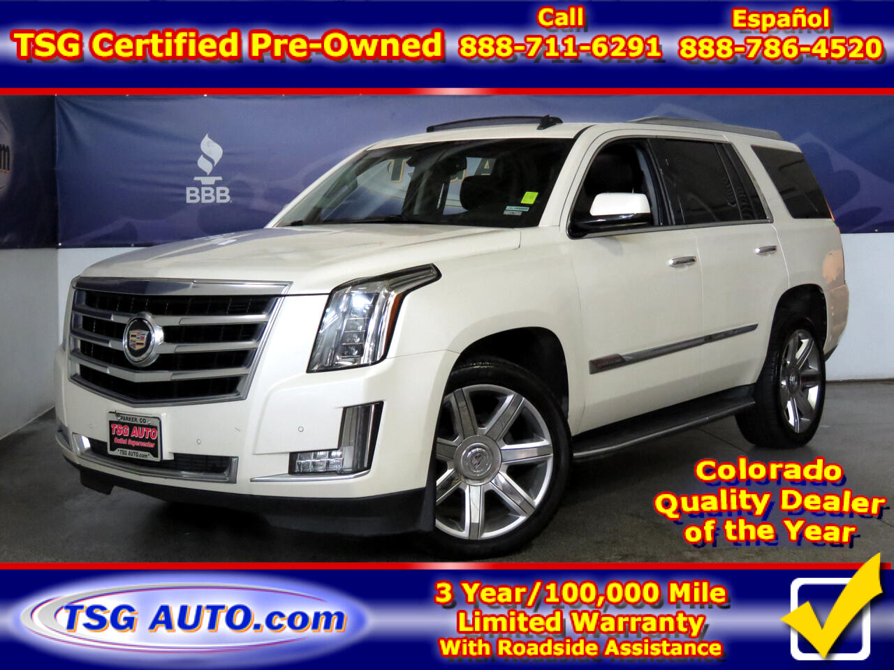 2015 Cadillac Escalade Luxury AWD