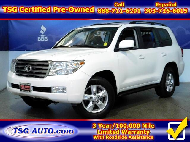 2008 Toyota Land Cruiser 5.7L V8 4WD W/Nav Leather SunRoof