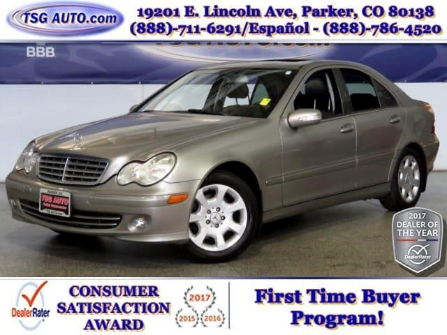 2005 Mercedes-Benz C-Class C320 3.2L V6 AWD W/Leather SunRoof