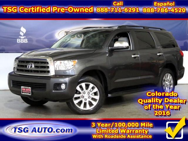 2015 Toyota Sequoia Limited 5.7L V8 4WD W/Leather ThirdRow
