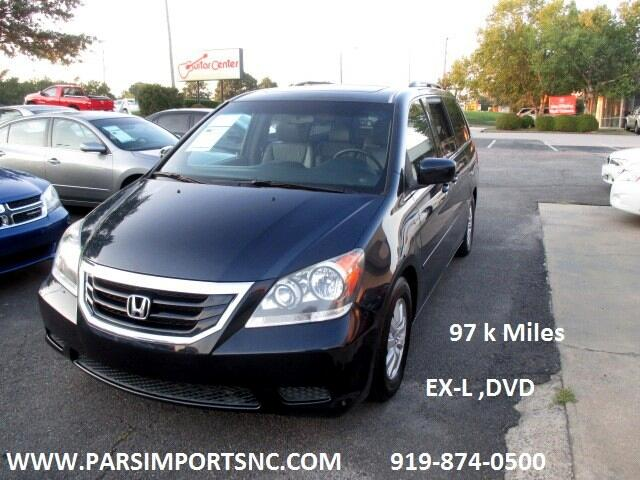 2010 Honda Odyssey 5dr EX-L RES w/DVD/Leather