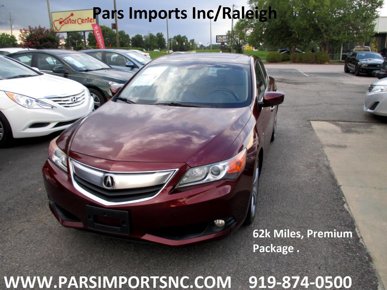 2013 Acura ILX 4dr Sdn 2.0L Premium Pkg