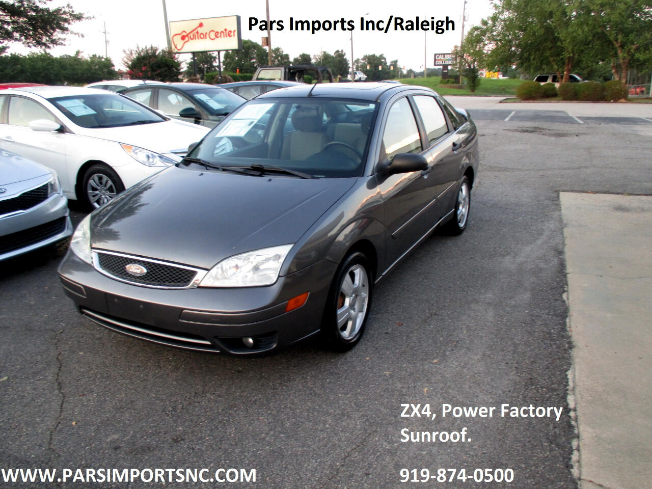 Ford Focus ZX4 SES 2007