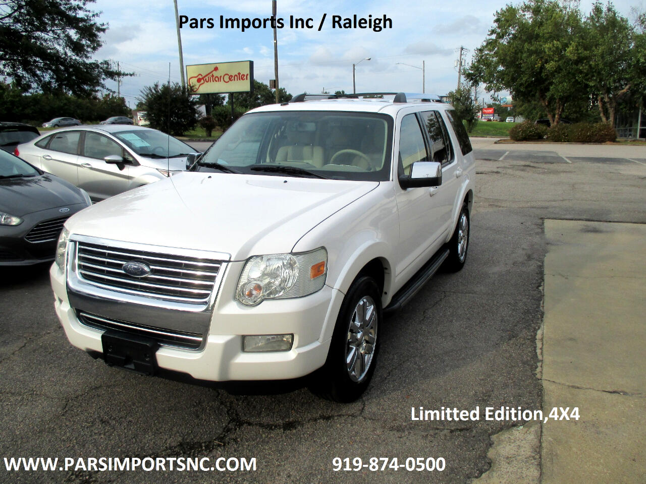 Ford Explorer Limited 4.0L 4WD 2010