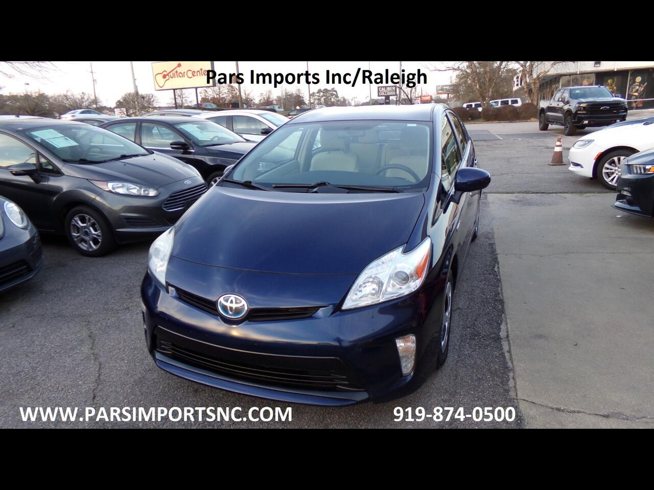 Toyota Prius 5dr HB III (Natl) 2013