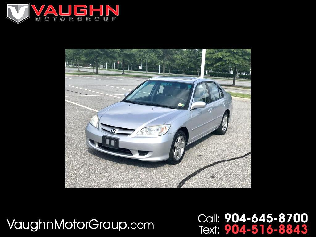 2004 Honda Civic 4dr Sdn Hybrid CVT