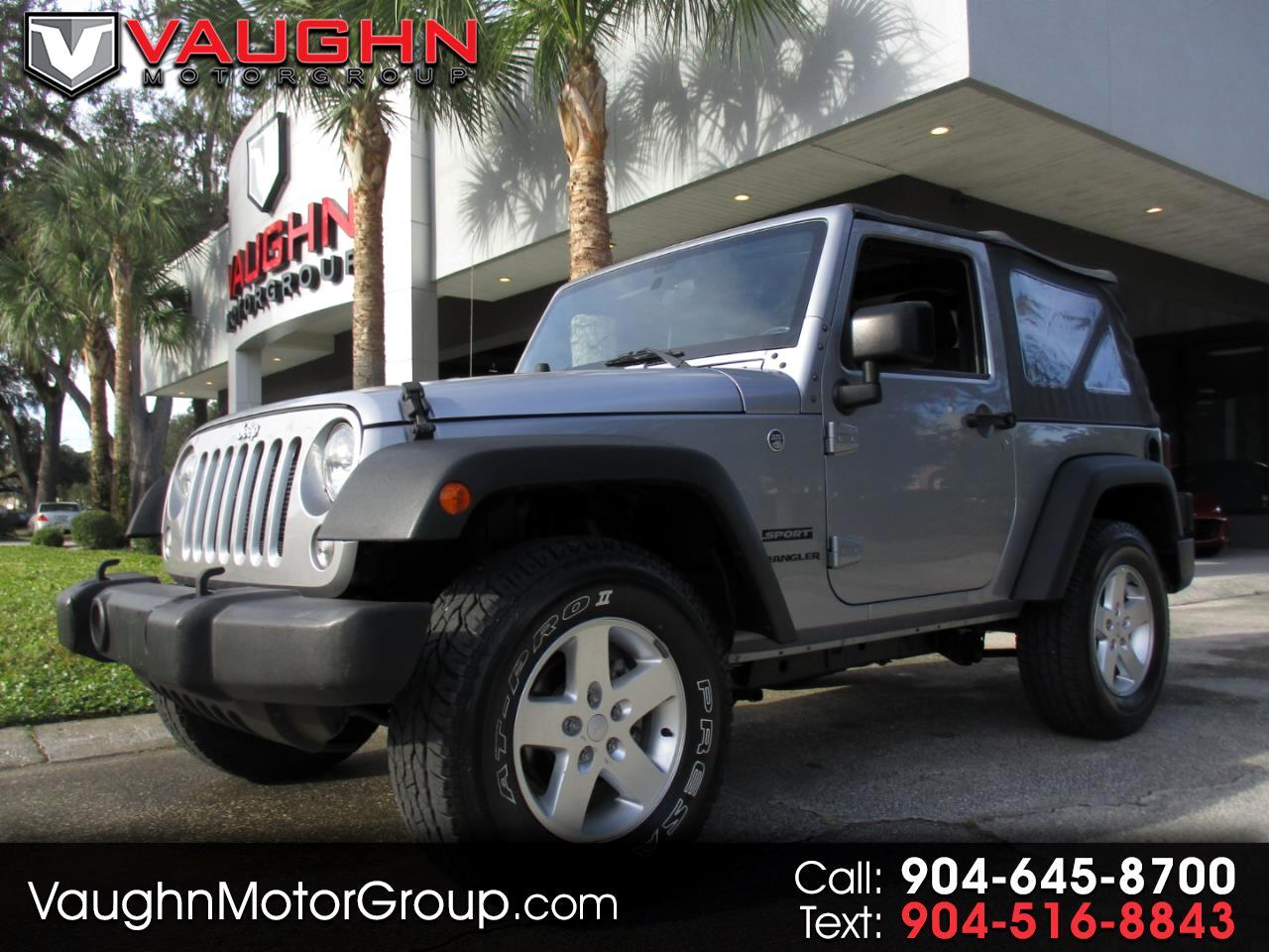 2016 Jeep Wrangler 4WD 2dr Sport