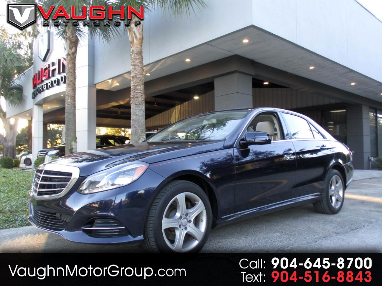 2016 Mercedes-Benz E-Class 4dr Sdn E 350 Luxury RWD