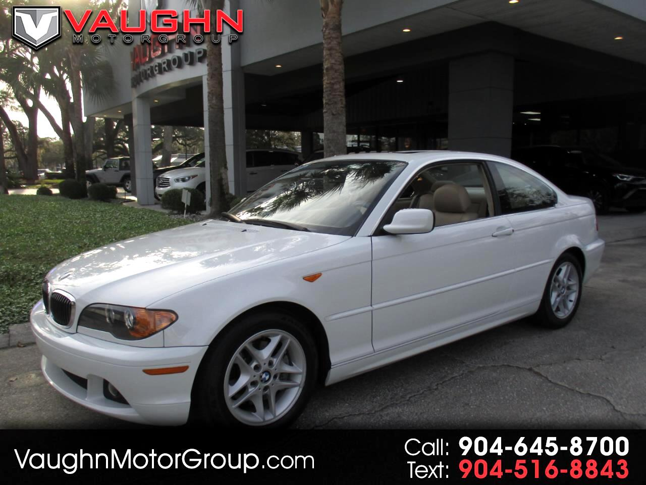 2004 BMW 3 Series 325Ci 2dr Cpe