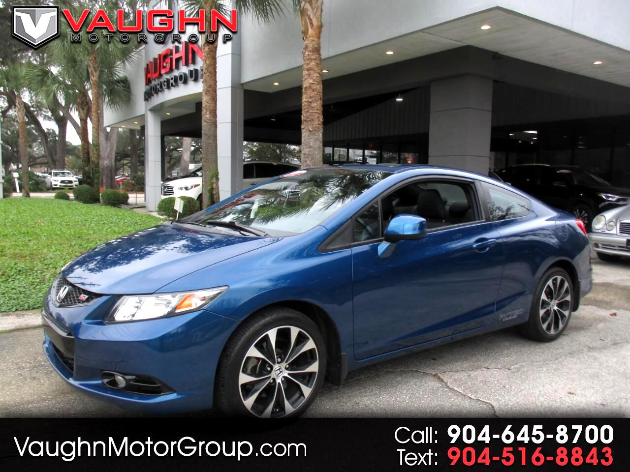 2013 Honda Civic Cpe 2dr Man Si