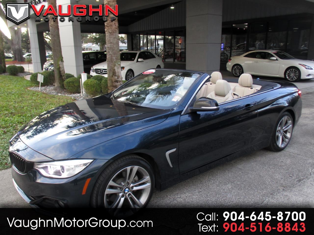 2015 BMW 4 Series 2dr Conv 428i RWD