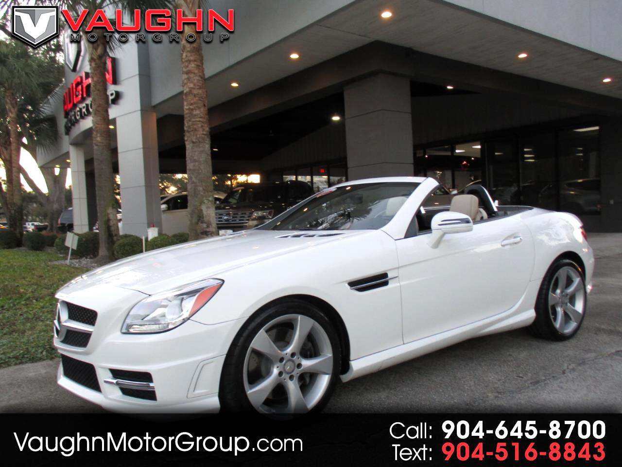 2016 Mercedes-Benz SLK 2dr Roadster SLK 350