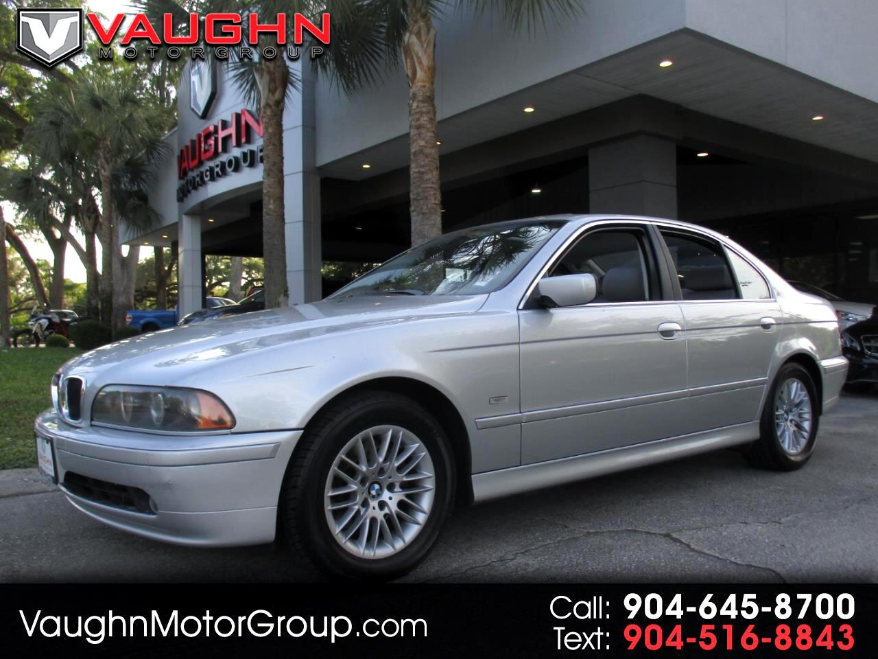 2003 BMW 5 Series 530iA 4dr Sdn 5-Spd Auto