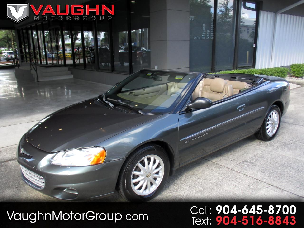 Chrysler Sebring 2dr Convertible LX 2001