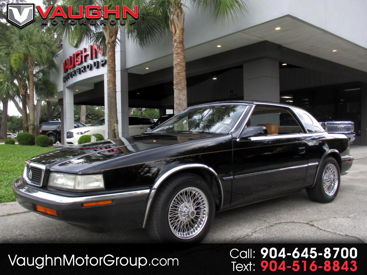 1990 Chrysler LeBaron 2dr Convertible GTC