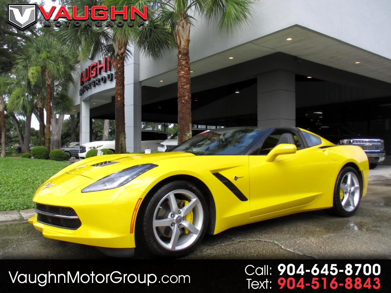 2014 Chevrolet Corvette Stingray 2dr Cpe w/1LT