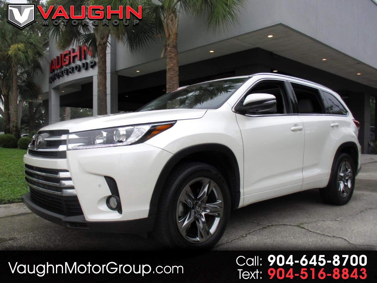 2018 Toyota Highlander Limited V6 FWD (Natl)