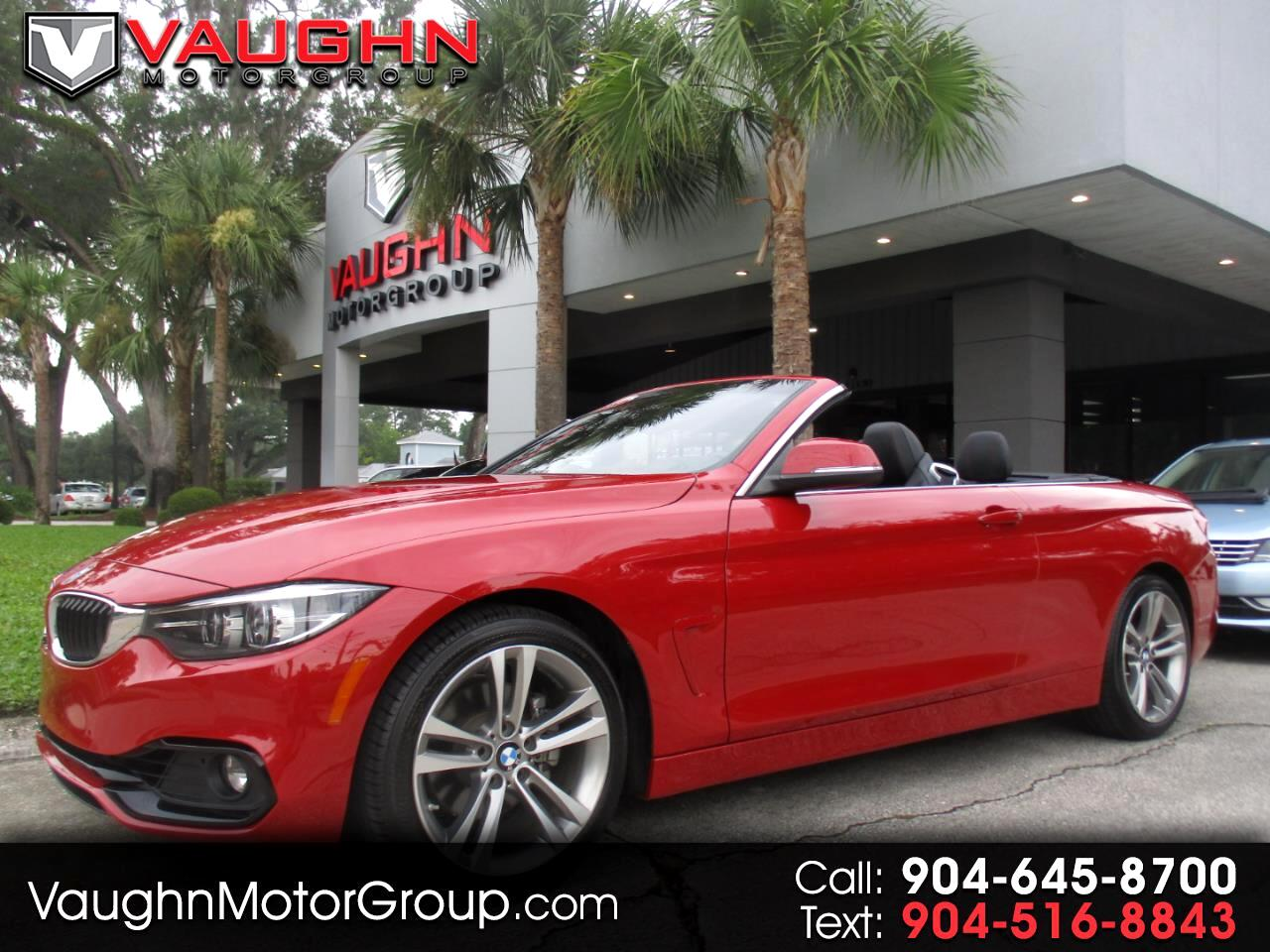 BMW 4 Series 430i Convertible 2018
