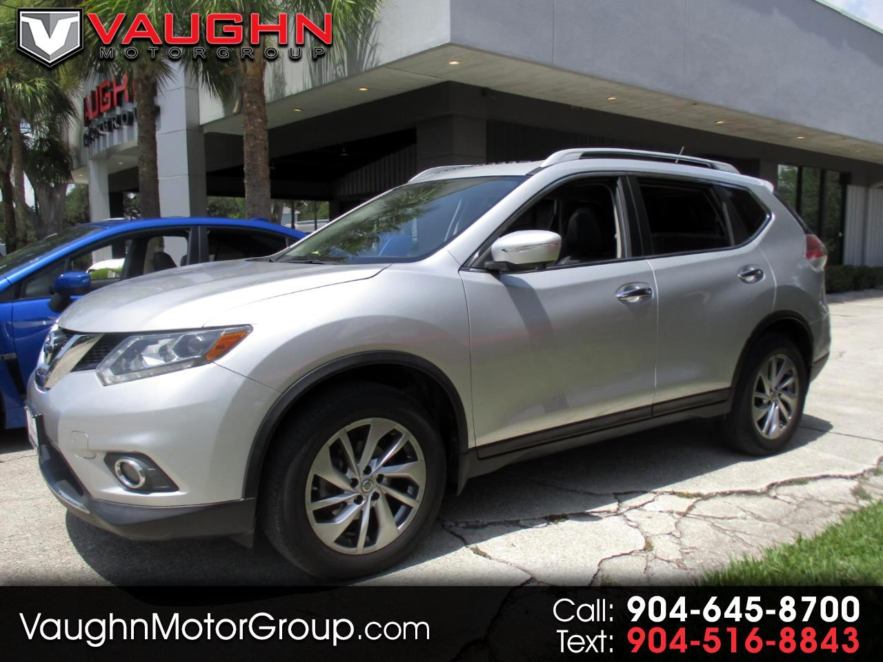 Nissan Rogue AWD 4dr SL 2015