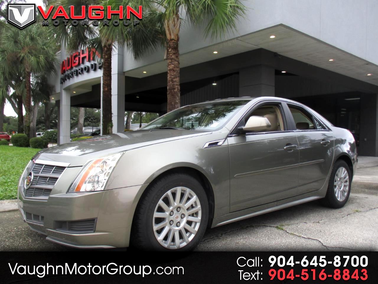 Cadillac CTS Sedan 4dr Sdn 3.0L Luxury RWD 2011