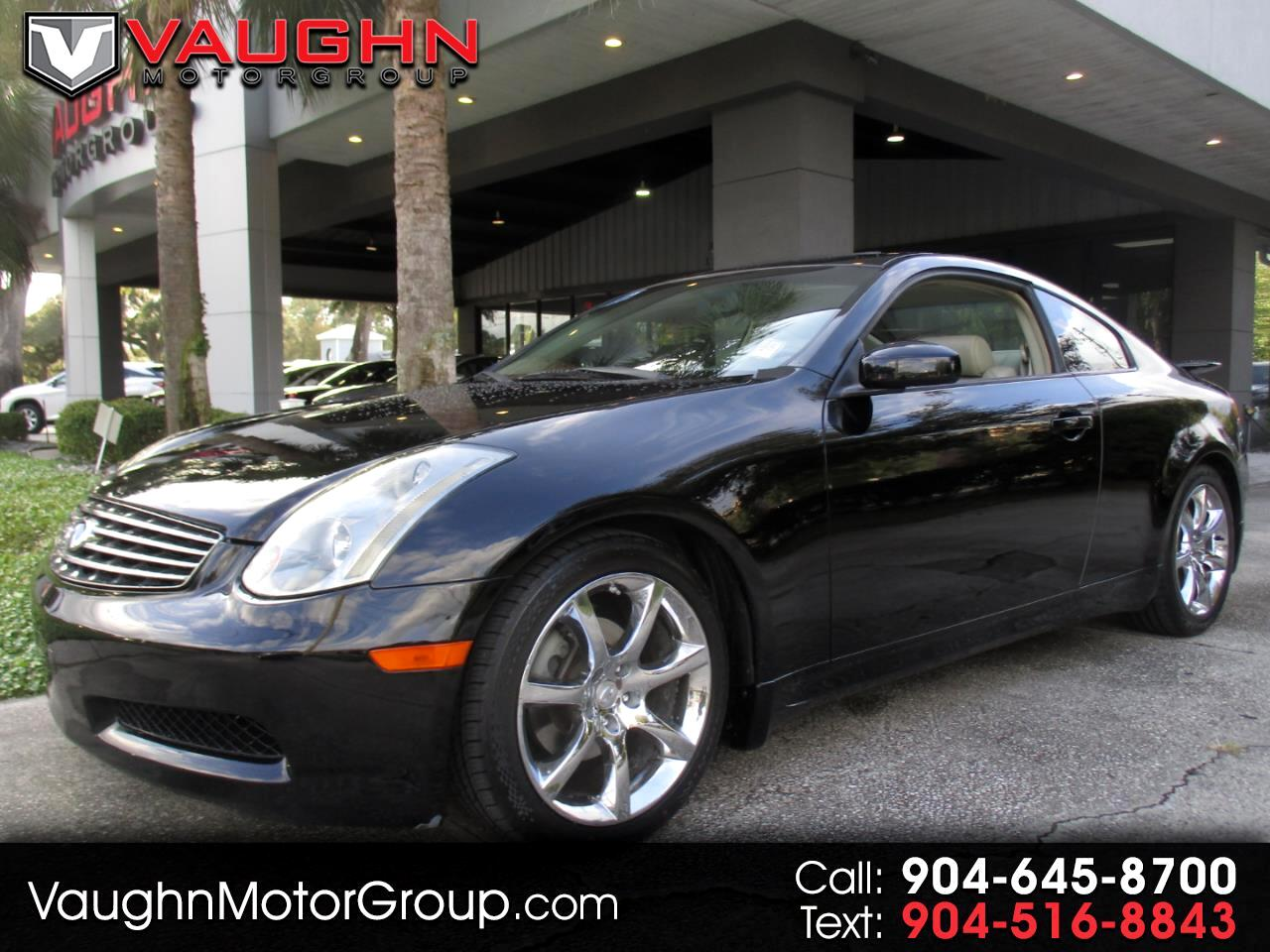 Infiniti G35 Coupe 2dr Cpe Auto w/Leather 2004