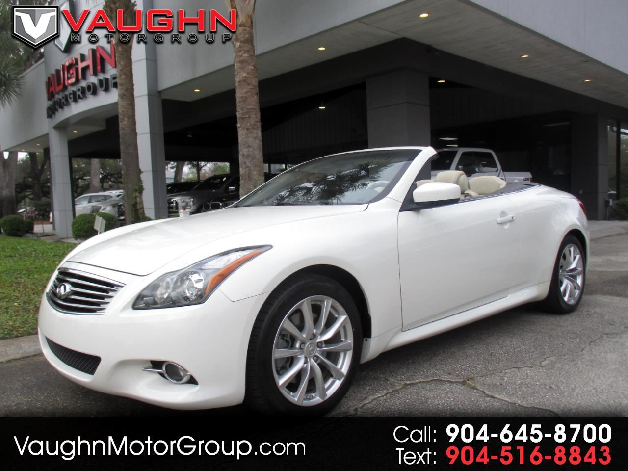 Infiniti G37 Convertible 2dr Base 2012