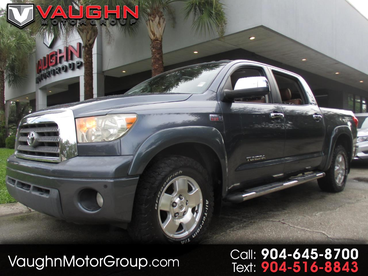 Toyota Tundra 2WD Truck CrewMax 5.7L V8 6-Spd AT LTD (Natl) 2008