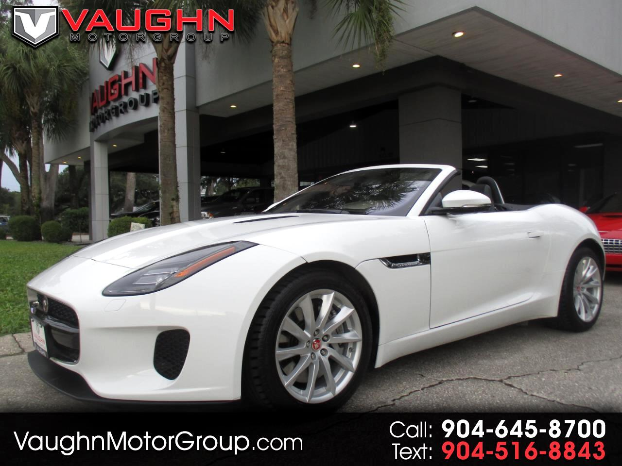 Jaguar F-Type Convertible Auto P340 2019
