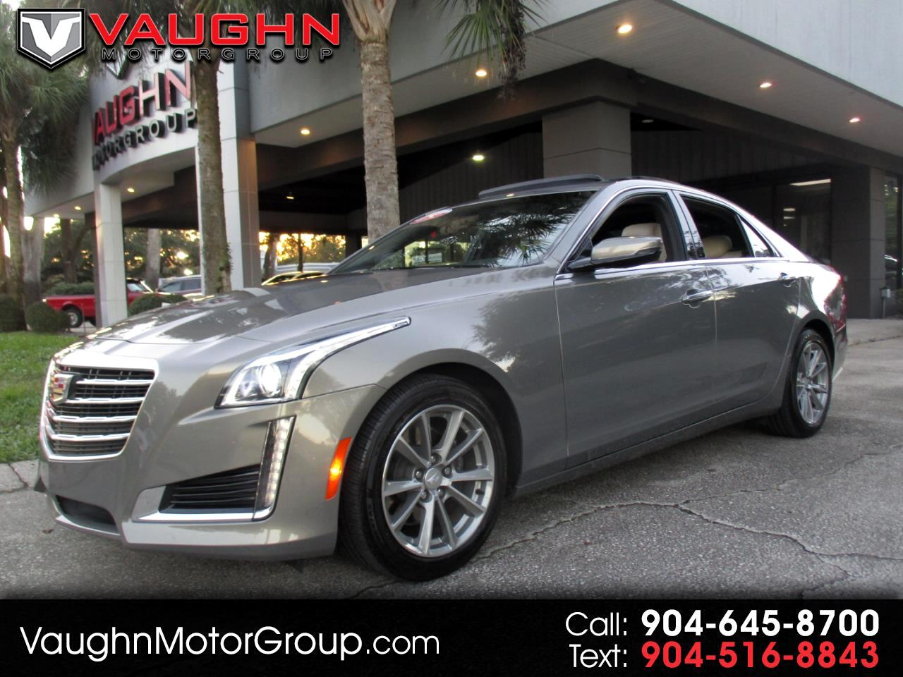 Cadillac CTS Sedan 4dr Sdn 2.0L Turbo Luxury RWD 2017