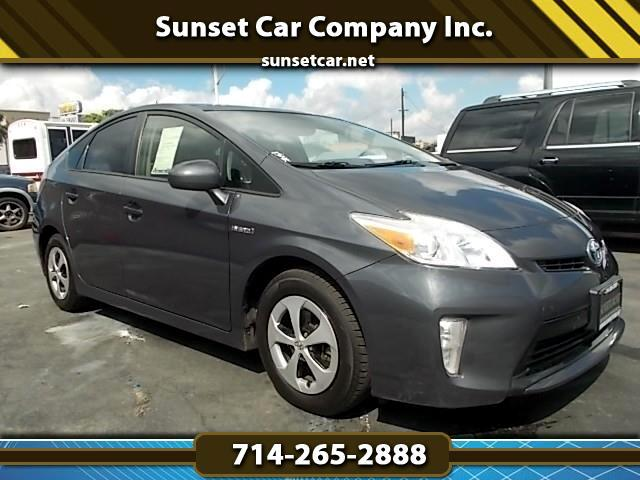 2012 Toyota Prius PRIUS FIVE FULLY LOADED