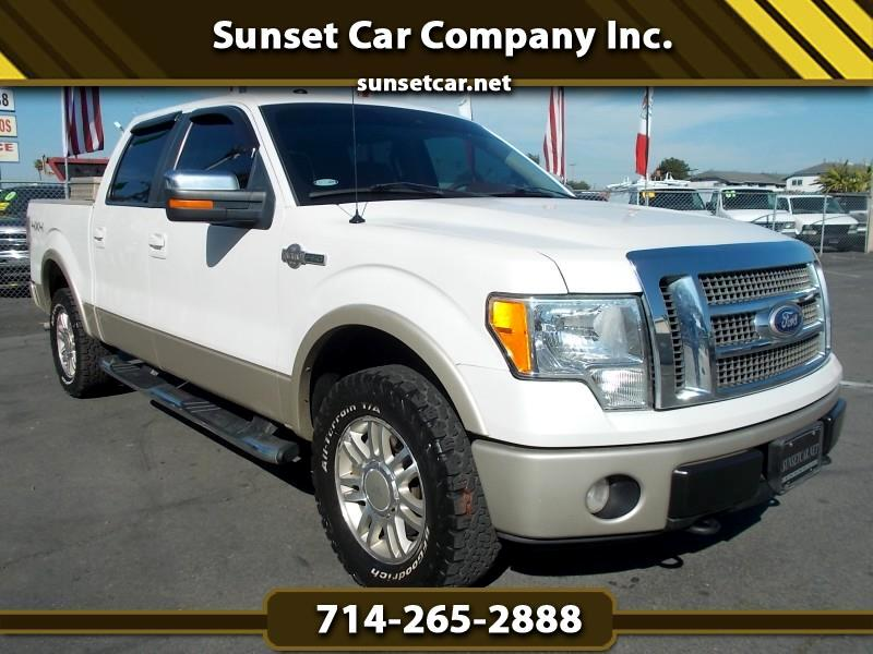 Ford F-150 King Ranch 4WD SuperCrew 5.5' Box 2010