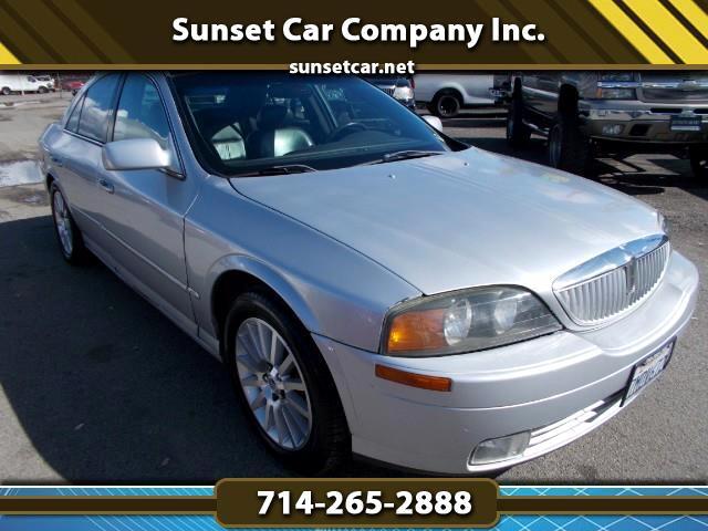 2000 Lincoln LS V6 Luxury