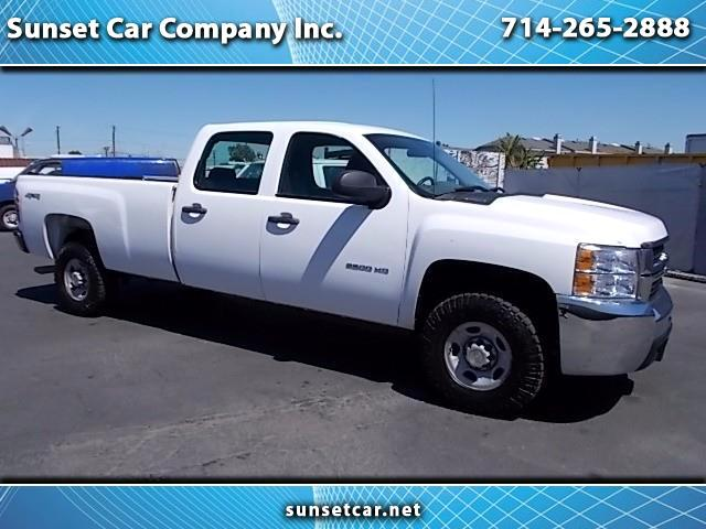2009 Chevrolet Silverado 2500HD 4WD CREW CAB LONG BED