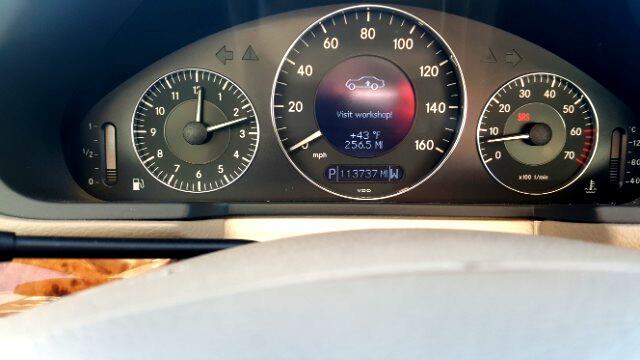 2003 Mercedes-Benz E-Class 4dr Sdn 5.0L