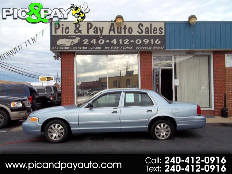 2006 Ford Crown Victoria 4dr Sdn LX