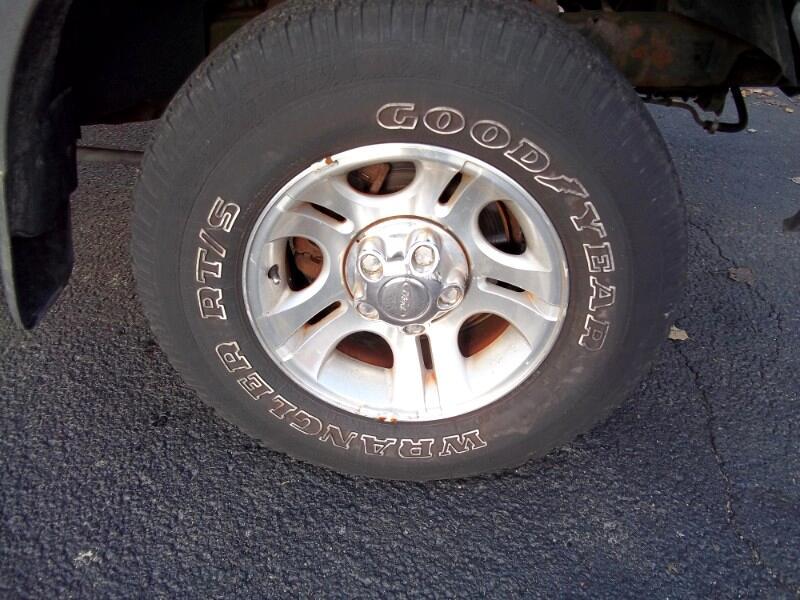 2000 Ford Ranger Reg Cab 112