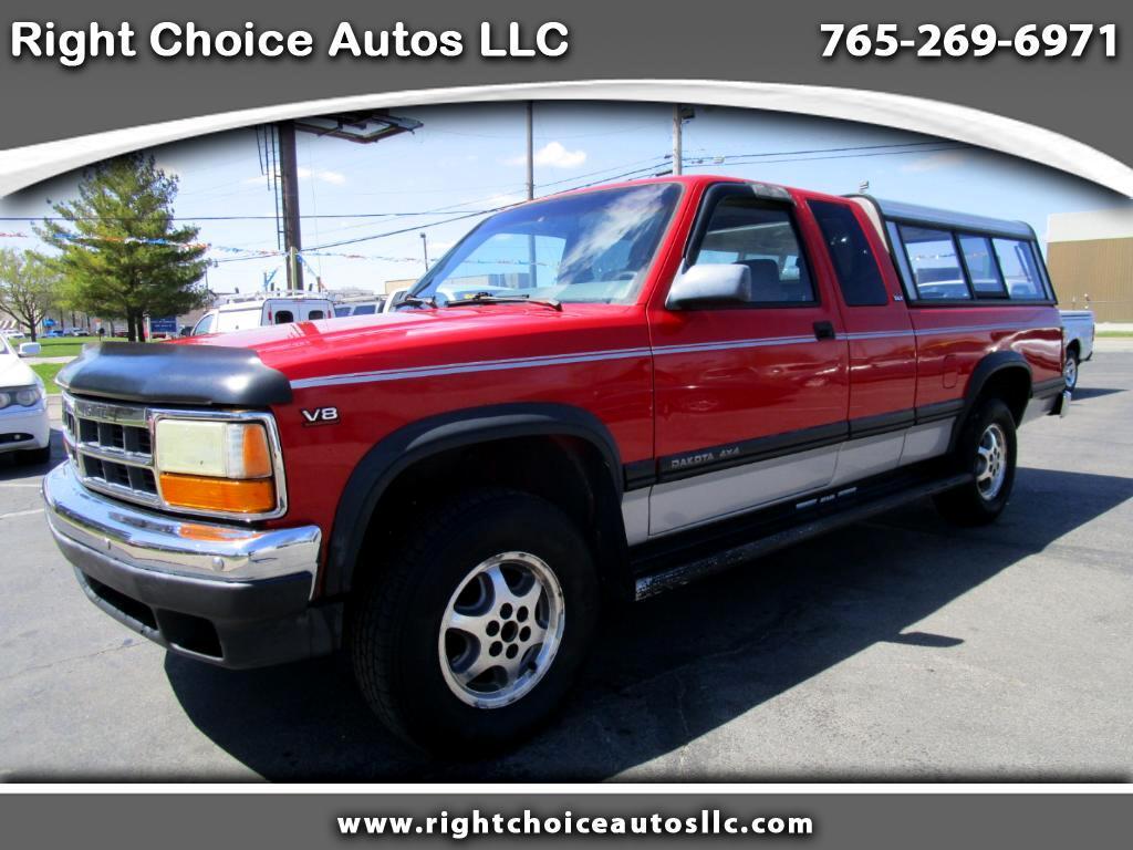 1996 Dodge Dakota Sport Club Cab 4WD