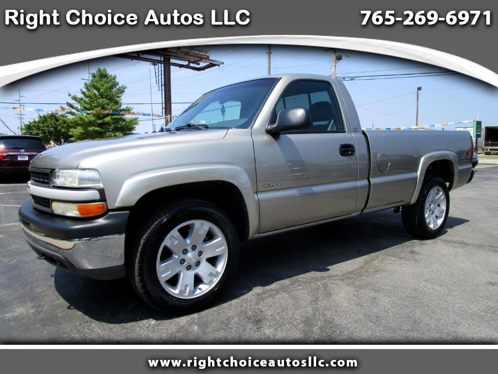 2000 Chevrolet Silverado 1500 Reg. Cab Long Bed 4WD